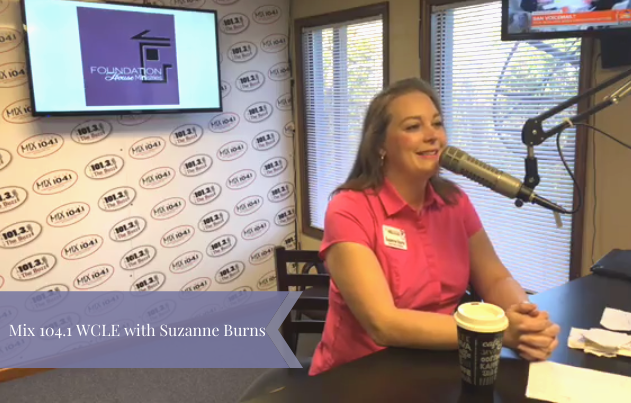 Mix 104.1 WCLE: Radio Interview with Suzanne Burns